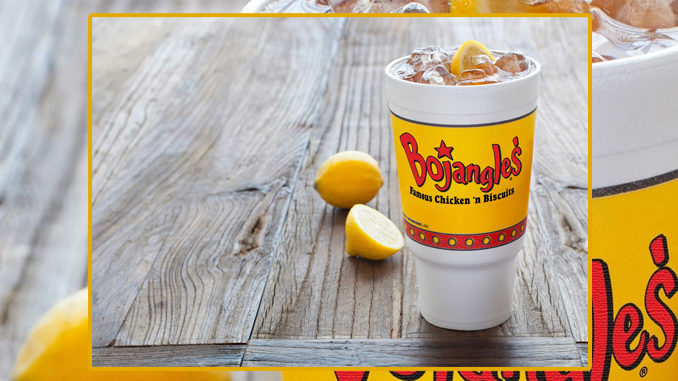 Bojangles' Offers $1 Any Size Sweet Legendary Iced Tea