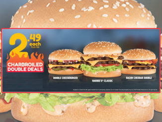 Hardee's Puts Together New $2.49 Charbroiled Double Deals