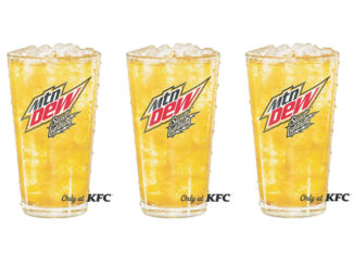 KFC Pours Exclusive New Mountain Dew Flavor: Sweet Lightning