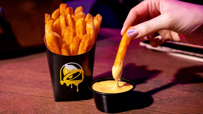 Nacho Fries Are Back At Taco Bell For A Limited Time