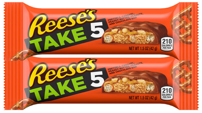 Take5 Candy Bars Get A Reese's Brand Makeover