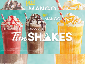 Tim Hortons Adds New Mango TimShake
