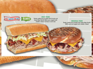 Blimpie Introduces New Spicy Pork And Original Pork Sandwiches As Part Of Great American Sub Tour