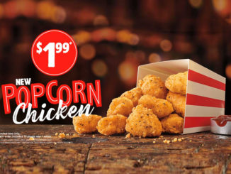 Burger King Fries Up New Popcorn Chicken In Canada