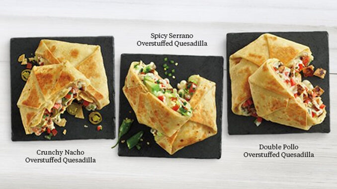 El Pollo Loco Unveils 3 New Overstuffed Quesadillas