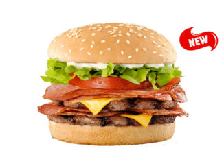 Hungry Jack's (Burger King Australia) Introduces New Baconator Burger - Yes, You Read That Right, A Baconator