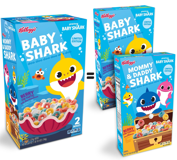 Kellogg's to launch 'Baby Shark' cereal