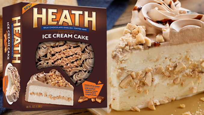 New Heath Ice Cream Cake Arrives Just In Time For National Ice Cream Day