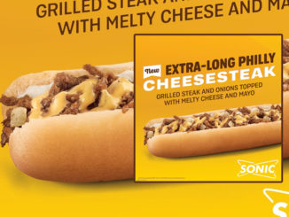 Sonic Spotted Selling 'New' Extra-Long Philly Cheesesteak And New Big Scoop Cookie Dough Blast & Sundae