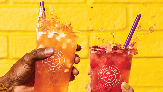 The Coffee Bean & Tea Leaf Pour New Lightened Cold Brew Teas