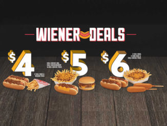 Wienerschnitzel Puts Together New $4, $5 And $6 Wiener Deals