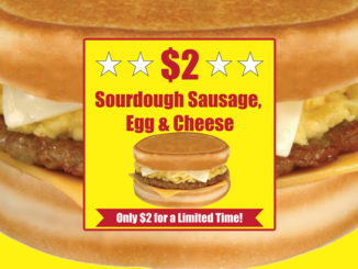 $2 Sourdough Sausage, Egg And Cheese Breakfast Sandwiches At Spangles For A Limited Time