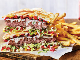 $7.99 Quesadilla Burgers With Endless Fries At Applebee's For A Limited Time