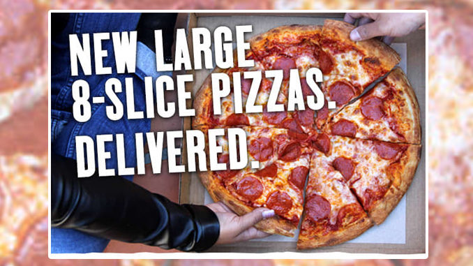 Blaze Introduces New Large 8-Slice Pizzas