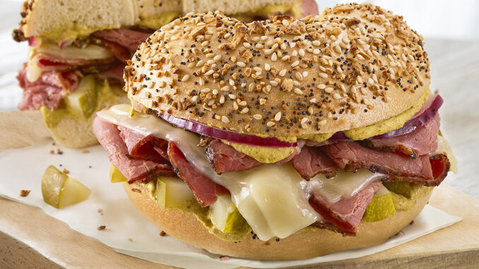 Bruegger's Bagels Unveils New Hot Pastrami Sandwich As Part Of New 2019 Fall Flavors Menu