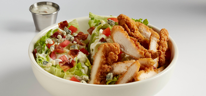 Chicken Tender Wedge Salad