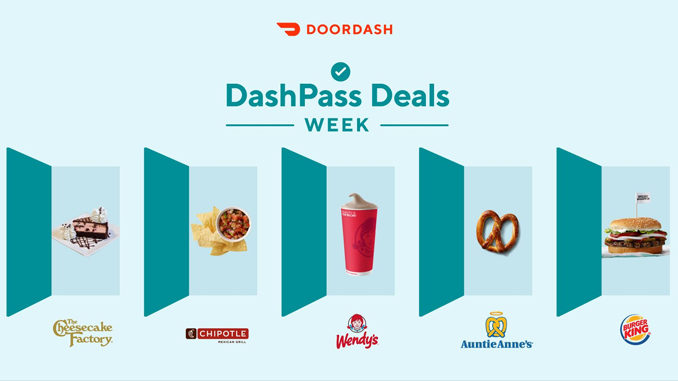 DoorDash Celebrates DashPass Anniversary With Free Food Giveaway Through August 9, 2019
