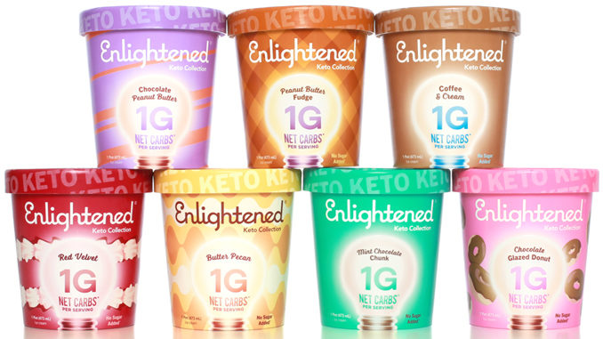 Enlightened Ice Cream Unveils New Keto Collection