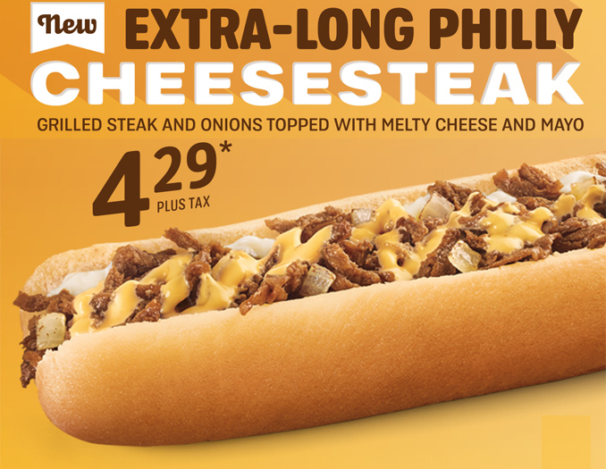Extra-Long Philly Cheesesteak