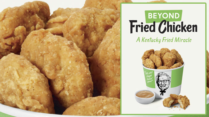 KFC Reveals New Plant-Based Beyond Fried Chicken Test