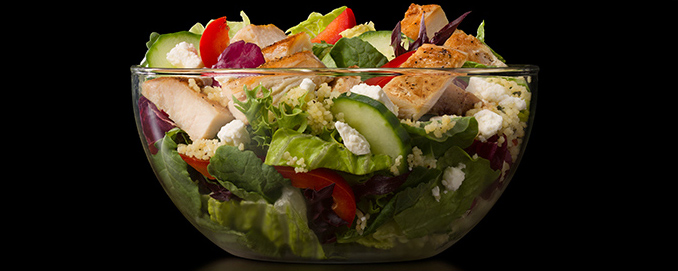 The 'I'm Greeking Out' Salad from Canada