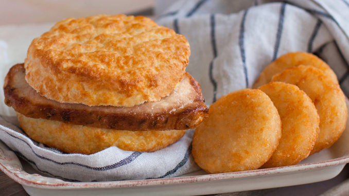Bojangles' Welcomes Back The Pork Chop Griller Biscuit For A Limited Time