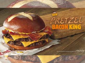 Burger King Canada Spotted Selling New Pretzel Bacon King