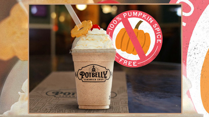Free Shake With Entree Purchase At Potbelly From September 20 Through September 23, 2019