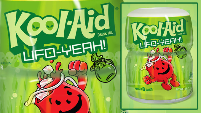 Kool-Aid Celebrates Area 51 By Giving Away 900 Limited-Edition UFO-Yeahhh Flavor Canisters