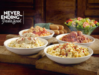 Never Ending Pasta Bowl Promotion Is Back At Olive Garden