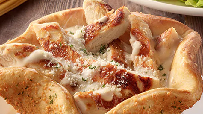 Olive Garden Introduces New Chicken Alfredo Pizza Bowl