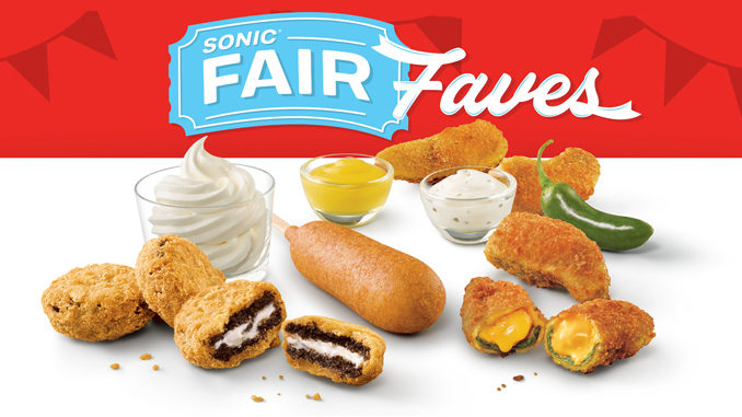 Sonic Puts Together Fair Faves Menu To Ring In Fall 2019