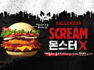 Burger King Is Selling A Scream Monster X Halloween Burger In South Korea