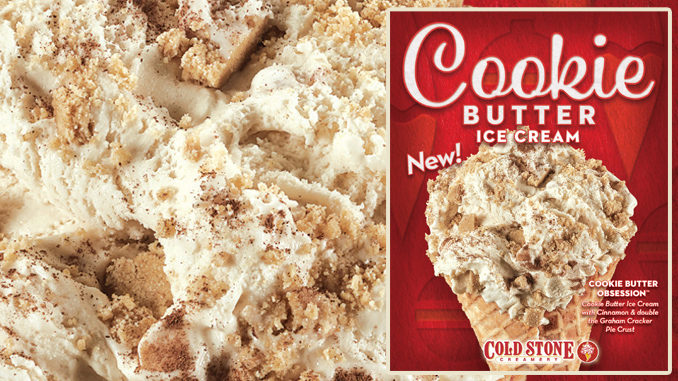 Cold Stone Creamery Introduces New Cookie Butter Ice Cream