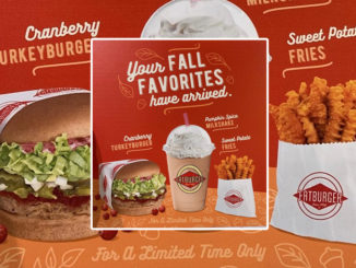 Fatburger Introduces New Cranberry Turkeyburger And Pumpkin Spice Shake As Part Of 2019 Fall Menu