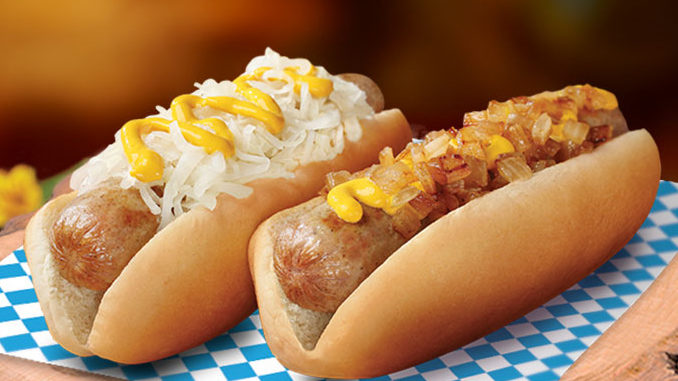 Free Bratwurst With Any Purchase At Wienerschnitzel From October 4 To October 6, 2019