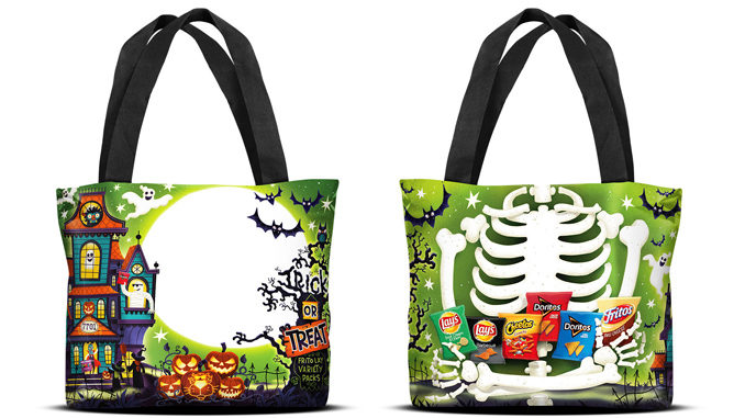 Frito-Lay Offers Limited-Edition Reflective Trick-Or-Treat Bag Filled With Treats For Halloween 2019