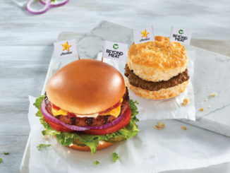 Hardee's Testing New Beyond Breakfast Sausage Biscuit New Original Beyond Thickburger