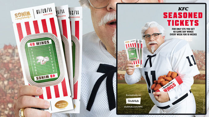 Here's What You Need To Know To Score 528 Kentucky Fried Wings For $75