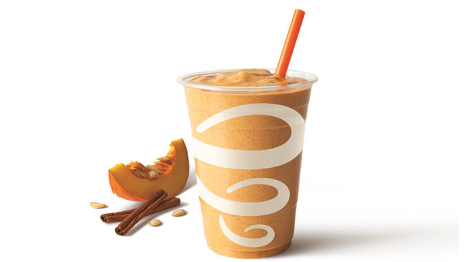 Jamba Introduces New Pumpkin Smash Smoothie