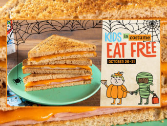 Kids In Halloween Costumes Eat Free At McAlister's Through October 31, 2019