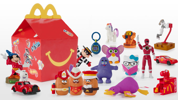 McDonald's Unveils New Surprise Happy Meal Featuring Throwback Toys From The Past 40 Years