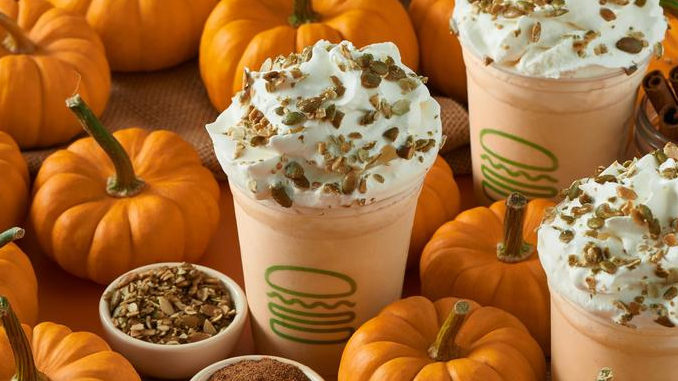 Shake Shack Spins New Pumpkin Shake