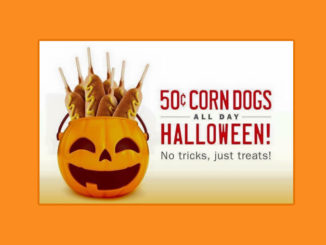 Sonic Celebrates Halloween With 50-Cent Corn Dogs On October 31, 2019