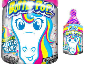 Bazooka Unveils New Baby Bottle Pop 'Unicorn Glitter Berry' Flavor