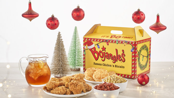 Bojangles' Launches New Holiday-Themed Big Bo Box