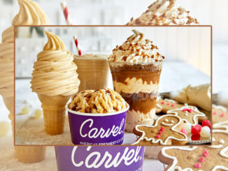 Carvel Introduces New Gingerbread Ice Cream