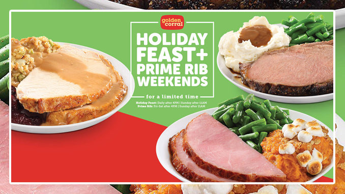 Golden Corral Offers New Holiday Feast Plus Prime Rib Weekends Promotion