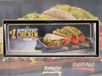 New $1 Shredded Chicken Tacos Spotted At Taco Bell