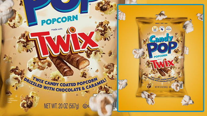 New Candy Pop Twix Popcorn Available Exclusively At Sam's Club